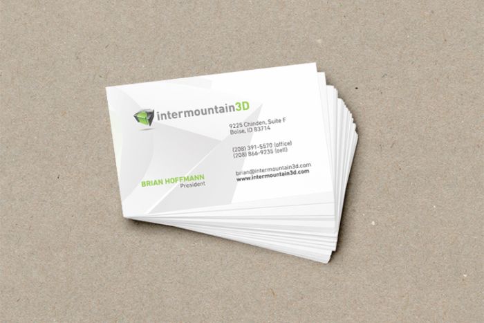 intermountain business cards