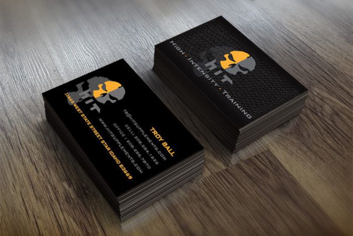 HIT business cards