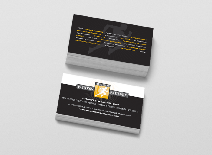 fitness factory mock up