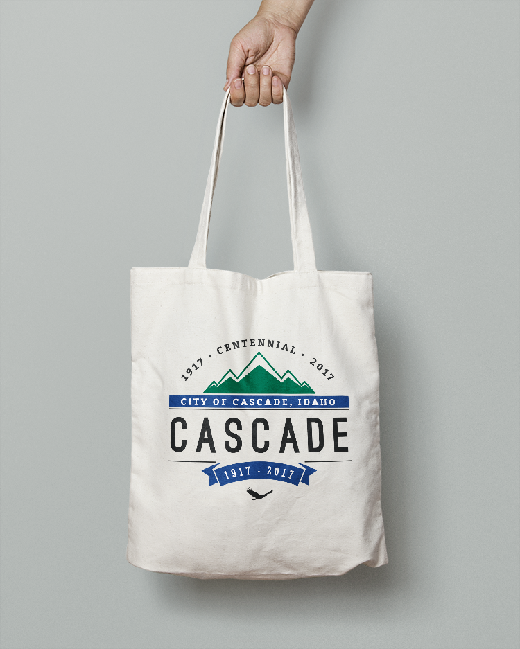 city of cascade bag