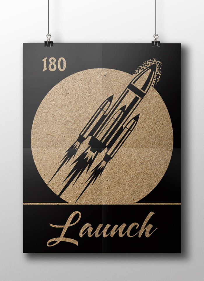 launch poster