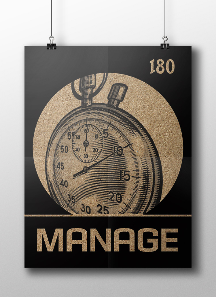 manage poster