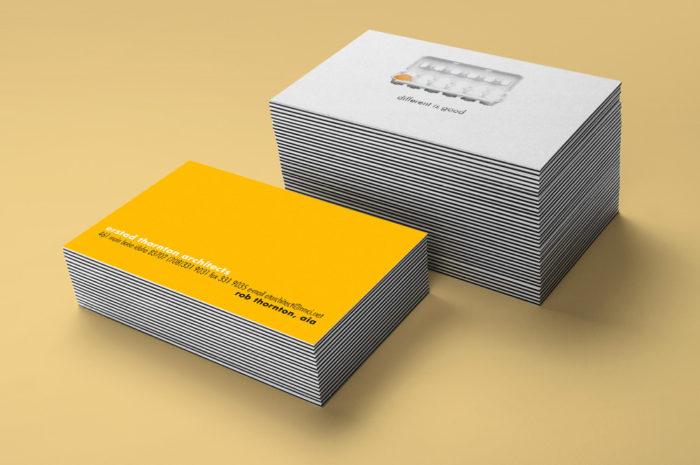 erstad business card mockup