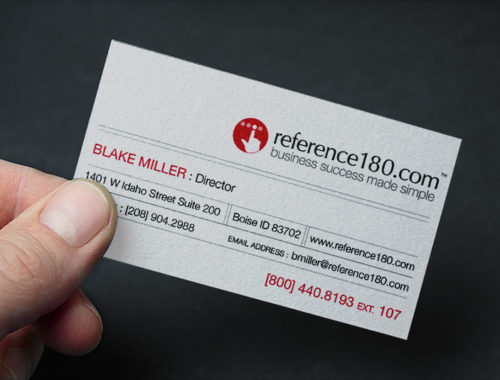 reference180 business card